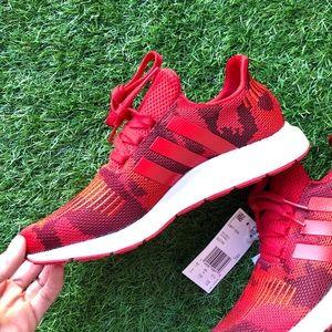 **NWT Adidas Swift Run Red Camo Running shoes!